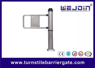 ประเทศจีน Pole Type Single Pedestrian Swing Barrier Gate With Emergency Interface โรงงาน