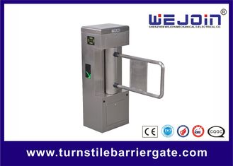 ประเทศจีน Safety Access Control Swing Barrier Gate With Voltage Of DC24V โรงงาน