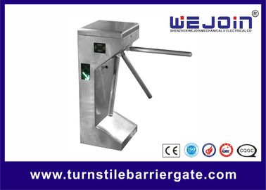 ประเทศจีน Tripod Turnstile Gate Entrance Gate Security Systems Pedestrian Access Control for Bus Station โรงงาน