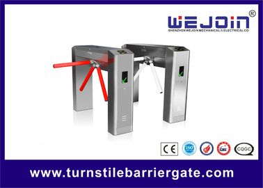 ประเทศจีน Portable electric Subway Tripod Turnstile Gate For Improve Working Productivity โรงงาน