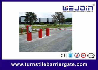 Straight Boom Automatic Car Park Barrier Gate Arms 8m Boom Length Aluminum Barrier