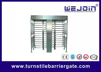 ประเทศจีน Stainless Steel Full Height Access Control Turnstile Gate CE Approved โรงงาน