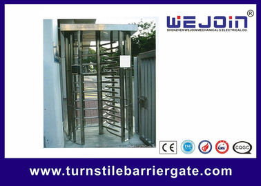 ประเทศจีน 304 / 201 Stainless Steel Smart Card Access Control Turnstile Gate โรงงาน