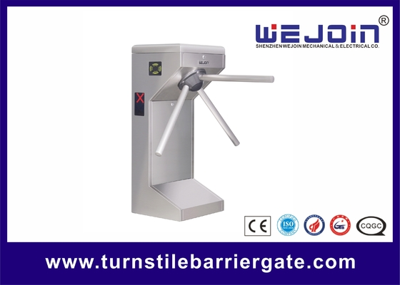 ประเทศจีน Supermarket Safety Tripod Turnstile Barrier Gate for Customers Access Management โรงงาน