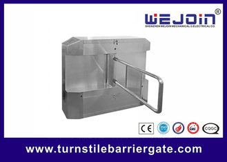 ประเทศจีน Acrylic plate Arm Turnstile Entry Swing Barrier Gate Systems With Dry Contact Interface โรงงาน