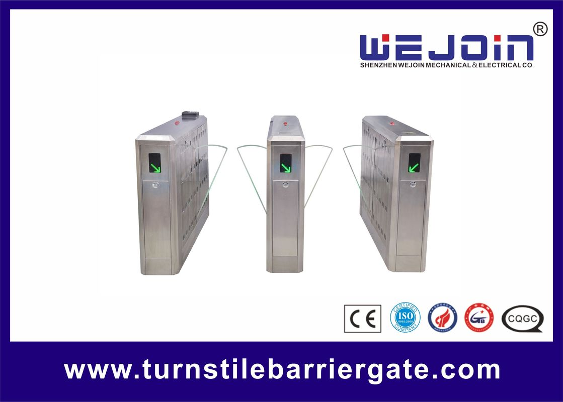 Intelligent Flap Barrier Gate with Compact Electro-mechanical Design and Adjustable Auto-delay Closing Time ผู้ผลิต