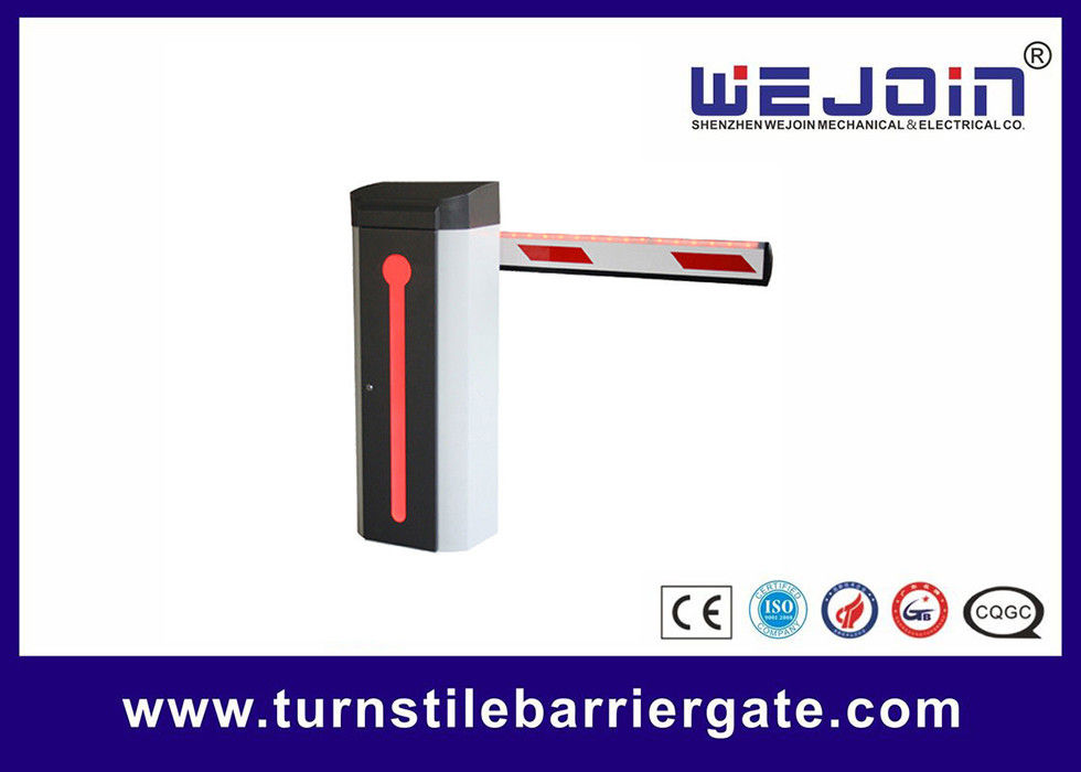 security parking electronic barrier gates access control led boom