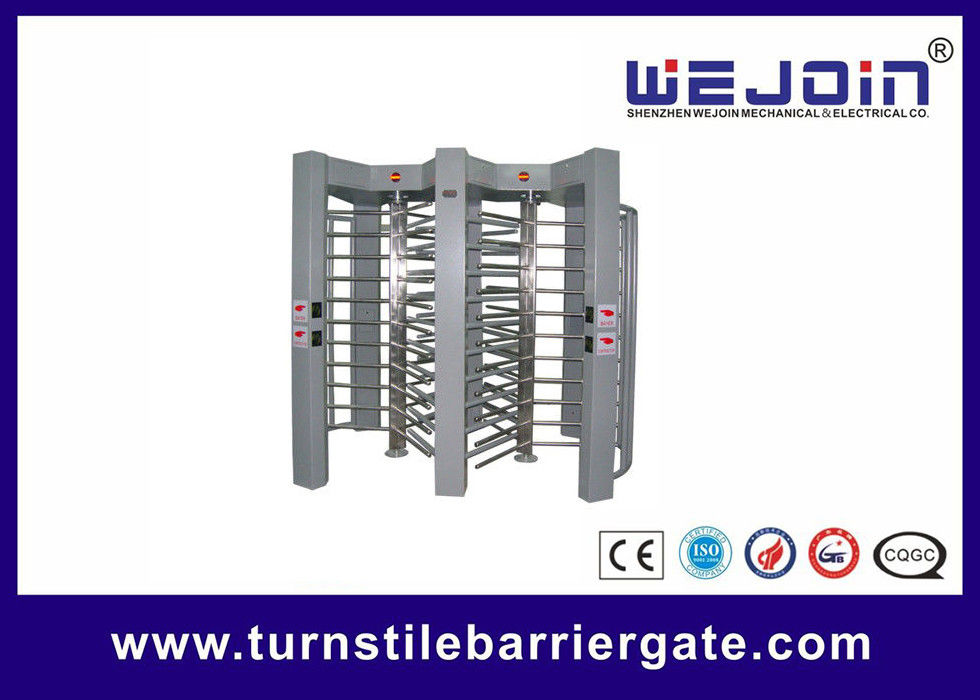 50HZ / 60HZ Controlled Access Full Height Turnstile Single Direction ผู้ผลิต