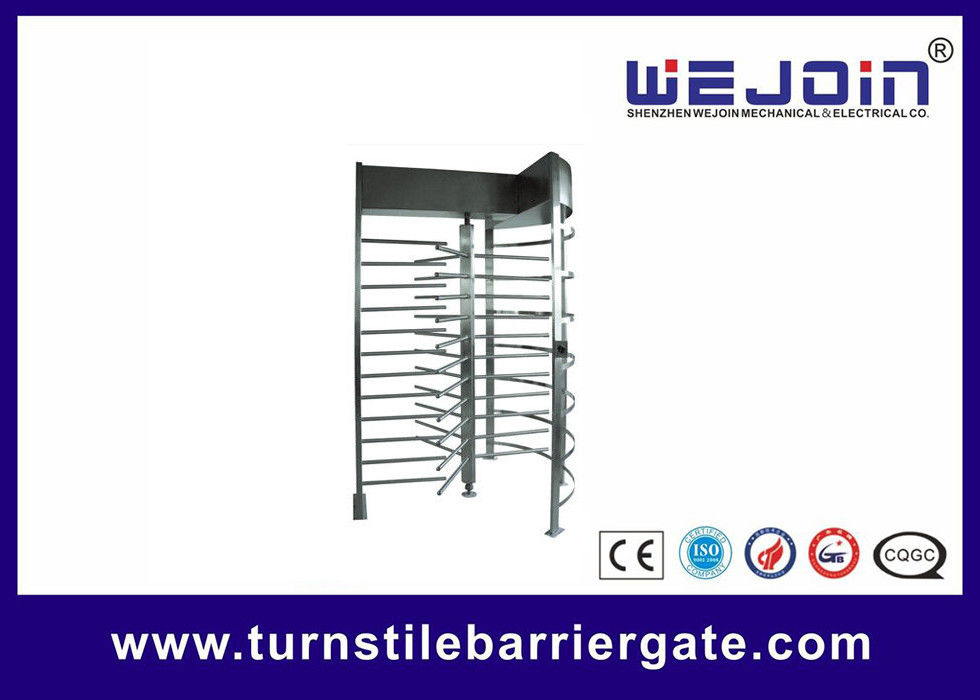 Stainless Steel Manual Full Height Turnstile Speed Gate Systems for Highway toll ผู้ผลิต