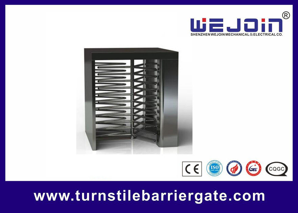 Counter Full Height Turnstiles pedestrian barrier gate With Control Panel ผู้ผลิต