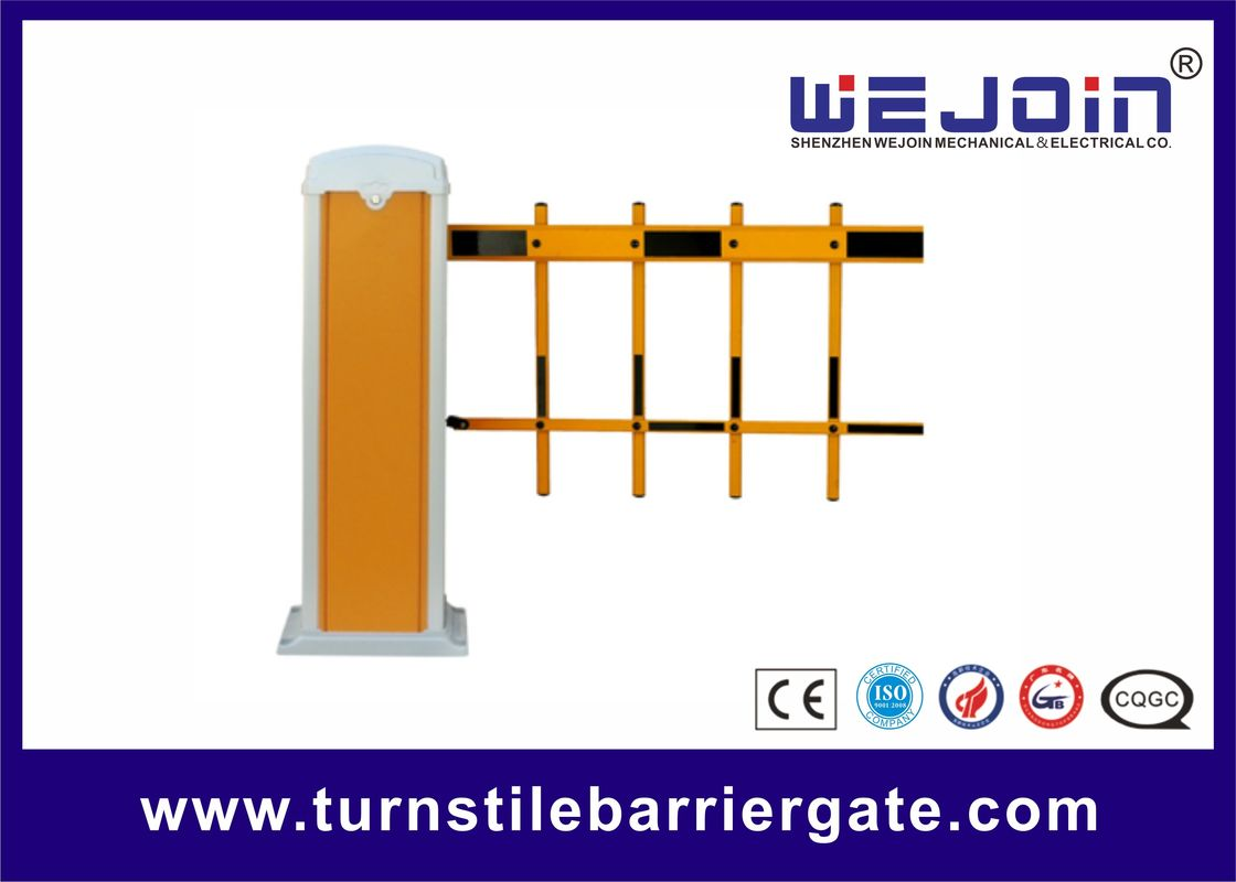 Traffic Automatic Car Park Barriers , Parking Lot Gate Control Systems 80W