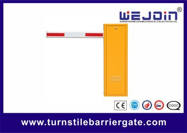 Barrier Gate Entrance Gate Security Systems with Yellow Color Housing